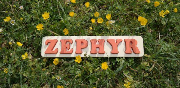 Puzzle prénom bois naturel