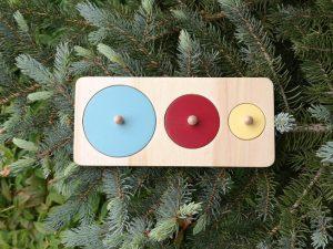 puzzle disques en bois