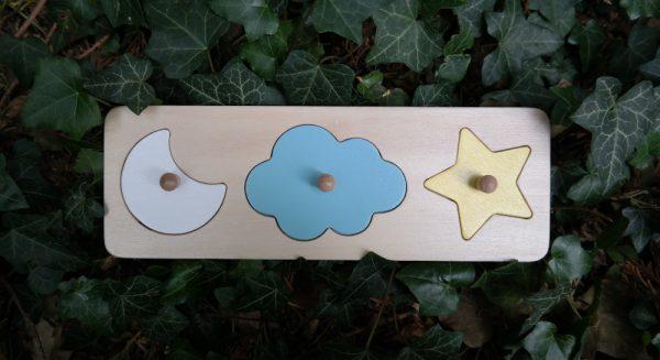 puzzle ciel en bois