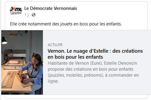 Article Le Démocrate Vernonnais 05092020