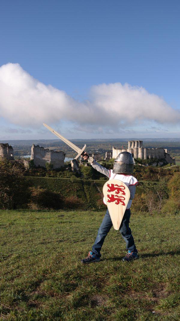 Epée et bouclier Normand