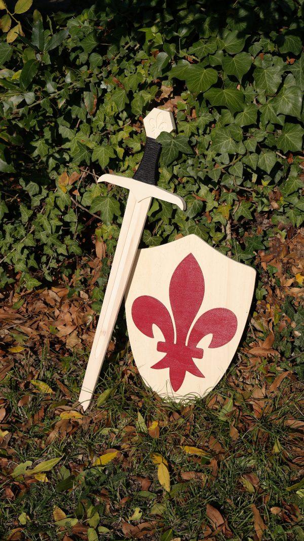 Épée et bouclier Normand