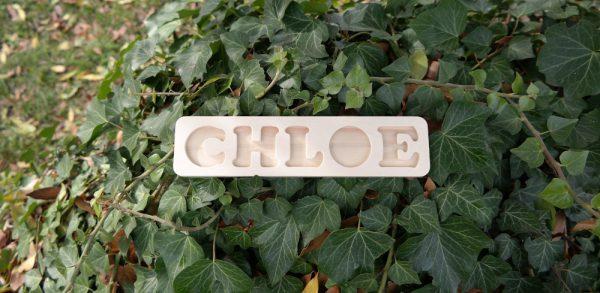 Plateau prénom Chloé