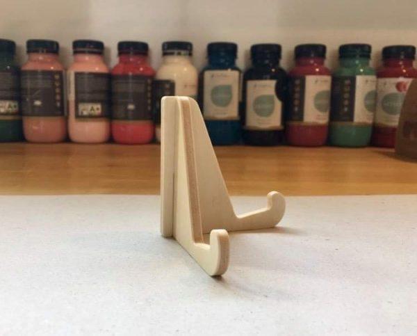 Petit chevalet en bois